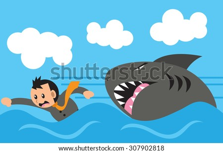 Business Survival - stock vector
