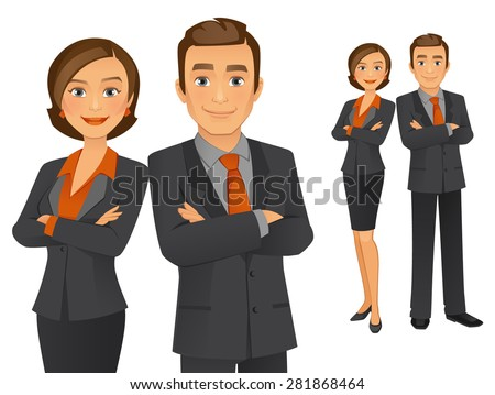 Business Team - stock vector