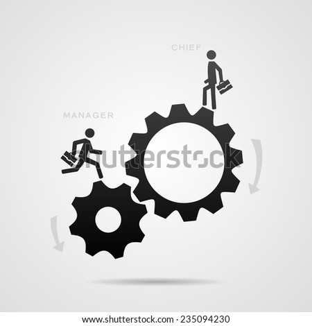 Business team concept. Eps10 - stock vector