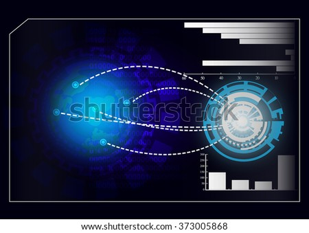 Business Technology Abstract Vector