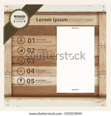wood sign making templates - business template design on wooden sign vector