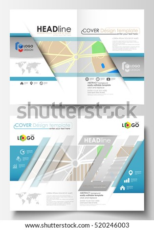 Business Templates Bi Fold Brochure Magazine Stock Vector 520246003