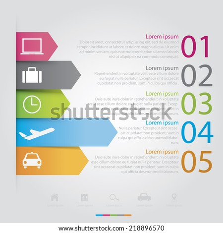 Business travel graph Easy to Edit , adjust color and size.  Shadow are made with transparency set to Multiply. - stock vector