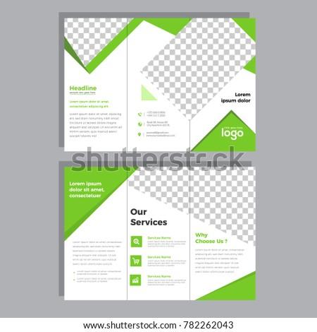 folding flyer templates