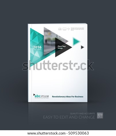 Business Vector Brochure Template Layout Cover Stock Vector