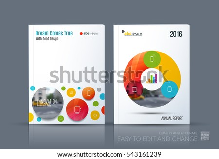 brochure template layout cover design annual report magazine flyer in