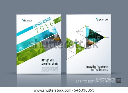 Business Vector Brochure Template Layout Cover Stock Vector Hd