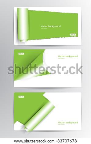 Business vector card - stock vector