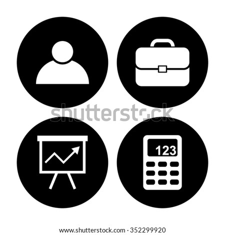 business vector icon set