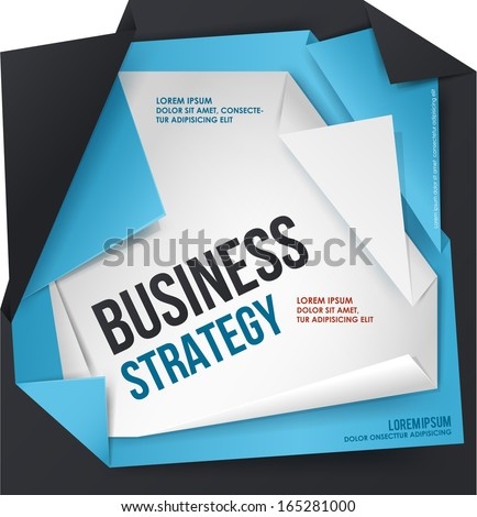 Business vector template.  - stock vector