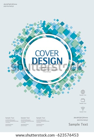 Business Vector Template Book Cover Annual Stock Vector (2018 ...