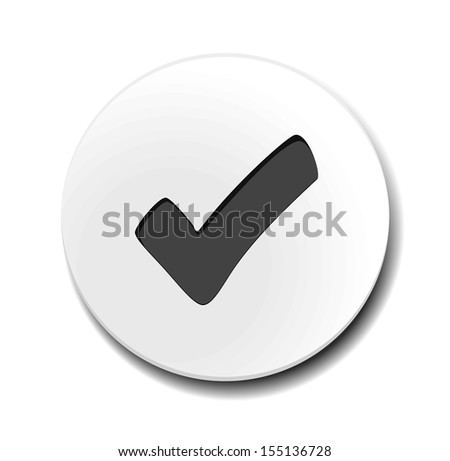 Business web button  - stock vector