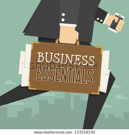 businessman  - stock vector