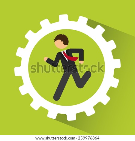 businessman design, vector illustration eps10 graphic