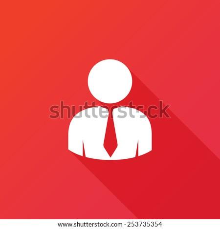 Businessman icon vector  - stock vector