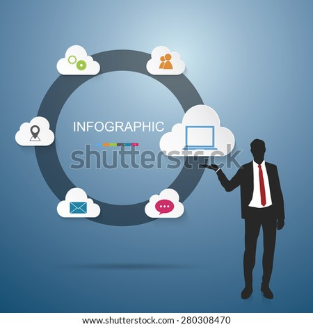 Businessman Infographic