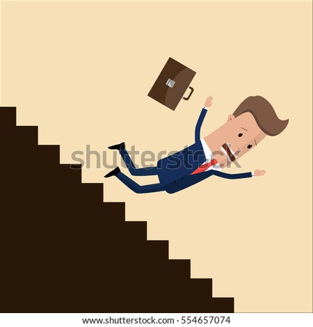 Royalty Free Stock Image Happy Little Boy School Bag Going To School Illustration Featuring Walking Isolated White Background Eps File Image31325846 further Falling Man 20257727 additionally Life Alert Lady Falling Down besides Fall down also Watch. on woman falling down stairs