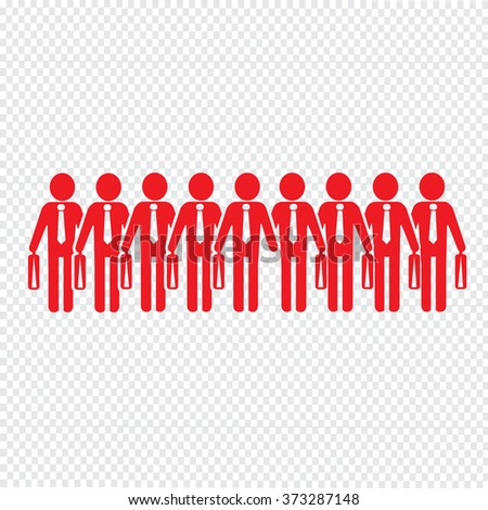 Businessman People Icon Illustration design
