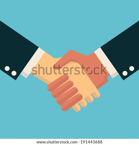 Stock Images similar to ID 100772761 - handshake set