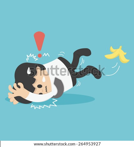Man Slipping Stock Images, Royalty-Free Images & Vectors ...