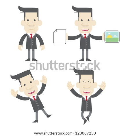 Businessman Vector Series