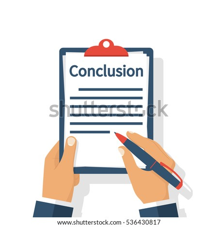 Conclusion Stock Images Royalty Free Images amp Vectors