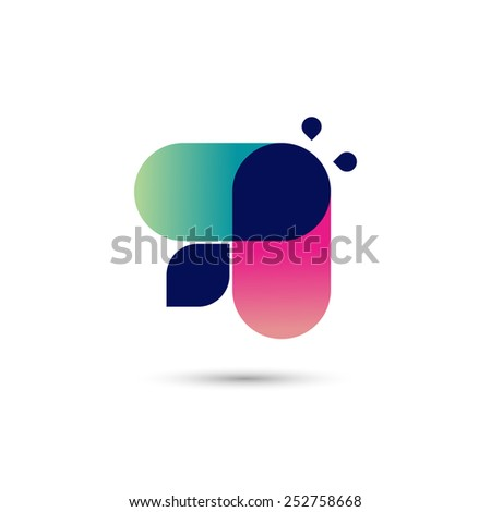 Busy bee symbol, vector illustration - stock vector
