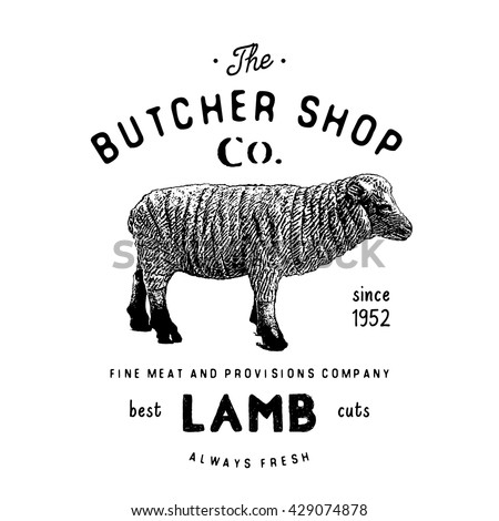 Stock Illustration Vector Farm Animals Seafood Silhouettes Collection Butcher Set Butchery Logo S le Text Retro Styled Image68277348 as well Sheep butcher diagram additionally Vintage Outline Diagram Meal Cutting Of 26337858 together with Goat Meat Cuts Diagram additionally Lamb Cuts Cooking Methods. on lamb meat cuts