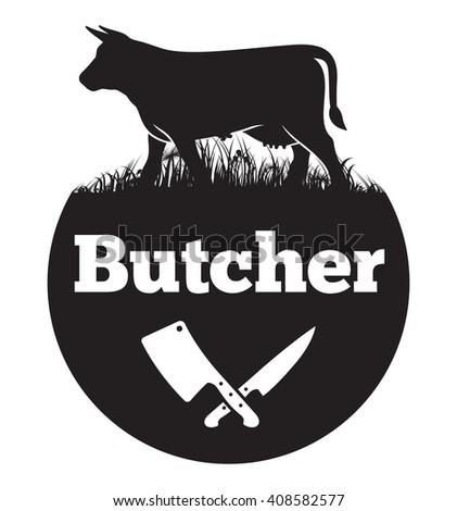 Butcher vector icon