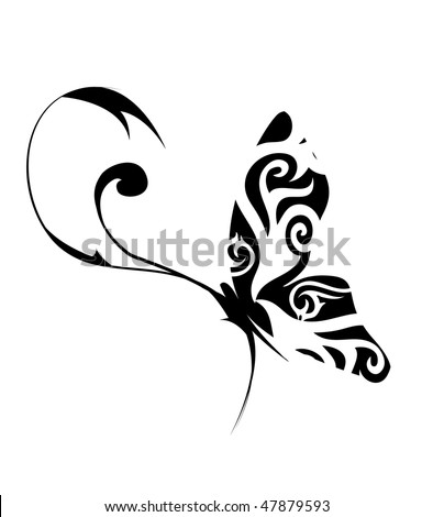 Butterfly vector illustration