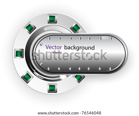 buttons vector - stock vector