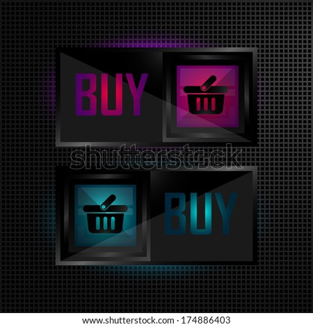 Buy Now vector icons collection