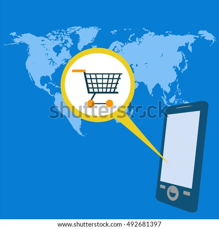 buying over the Internet over mobile phones