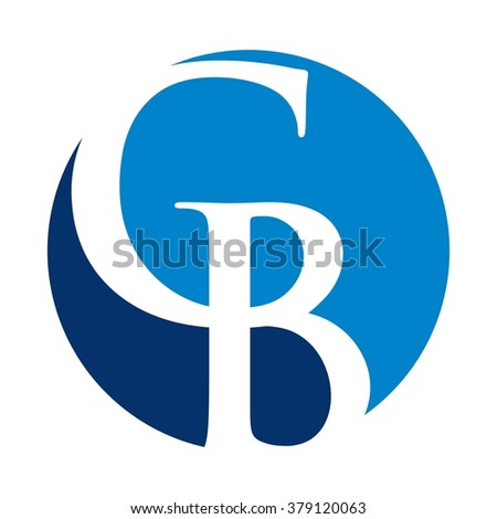 c and b logo vector.