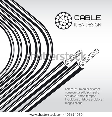 Electrical Wire Electrical Wire Vector
