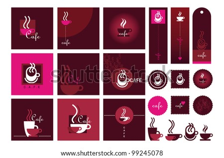 "minidoodle's ""cafe & coffee signs"" set on shutterstock"