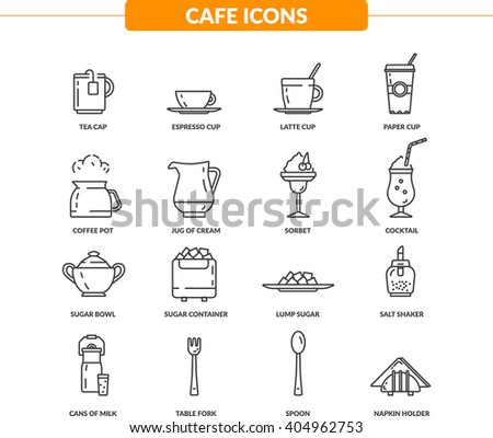 Cafe& Restoration Icon Pack