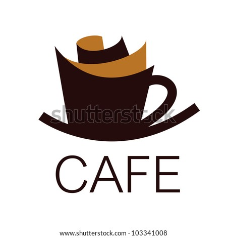 Cafe sign - stock vector