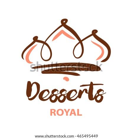 Cake Art Logo : Cake Shop Logo Natural Ingredient Element Stock Vector ...