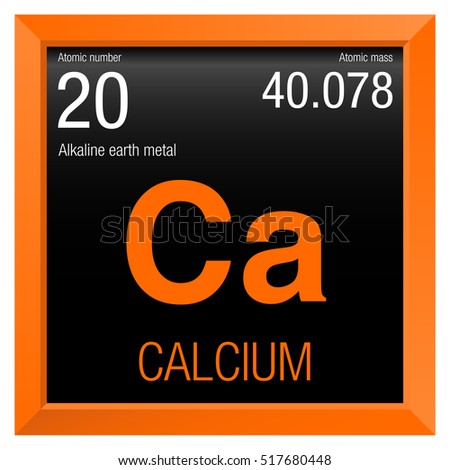 Stock images royalty free images vectors shutterstock calcium symbol element number 20 of the periodic table of the elements chemistry urtaz Image collections