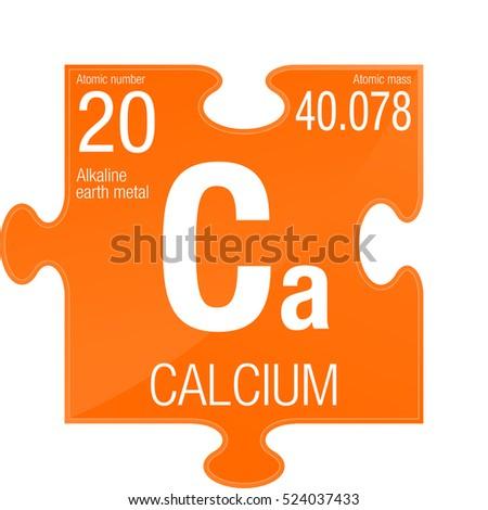 Calcium symbol element number 20 periodic stock vector 2018 calcium symbol element number 20 of the periodic table of the elements chemistry urtaz Images