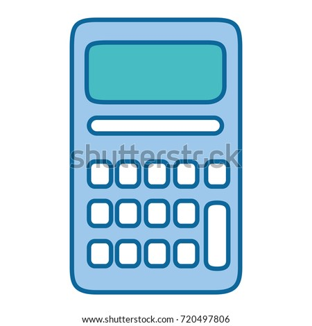 Calculator Math Isolated Icon Stock Photo (Photo, Vector ...