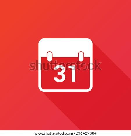 Calendar day icon - stock vector