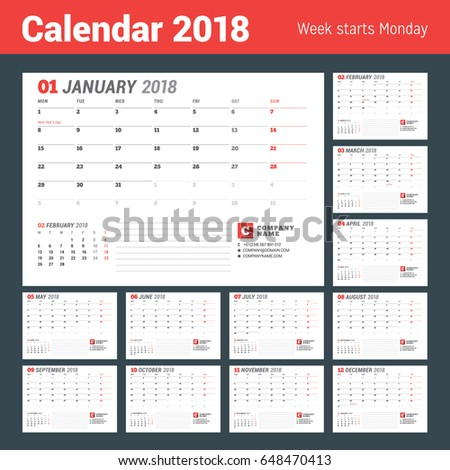 Table Calendar Stock Images RoyaltyFree Images  Vectors