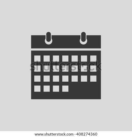 Calendar vector illustration , vector icon