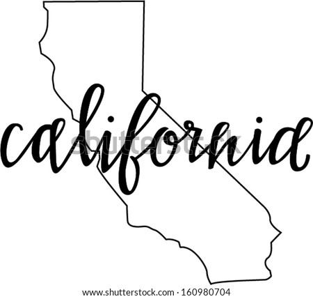 California state outline stock photos royalty free images for Designers art of california