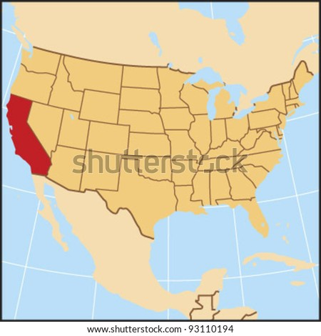 California Locate Map