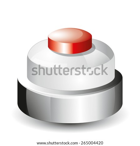 Call bell icon - stock vector