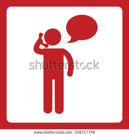 call icon - stock vector