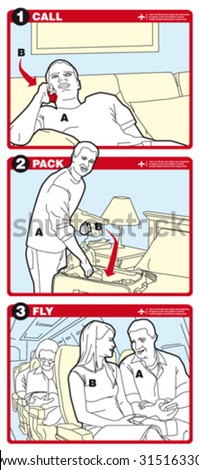 Call Pack Fly Instructions